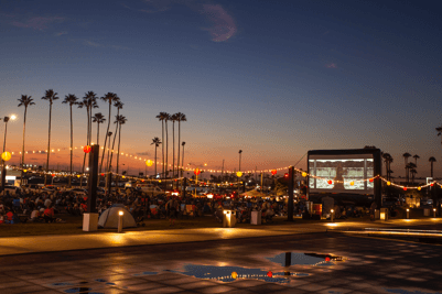 Blow Up Screen Rental Company for Outdoor Movies