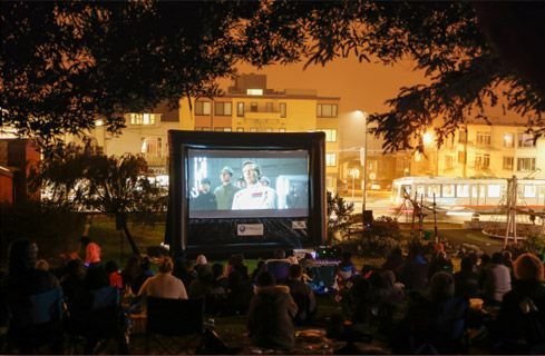 Movie Screen Rental Events