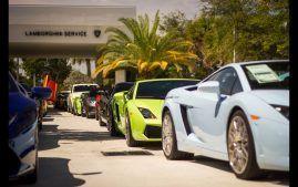 Photo on Blog for Lamborghini movie night