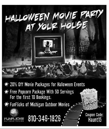 Halloween Party Ideas Flyer Invite