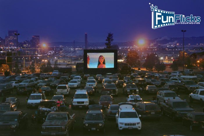 Drive In Theater Equipment Rental