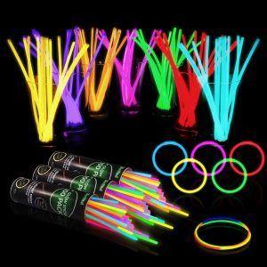 Outdoor Movie Event Glow Sticks