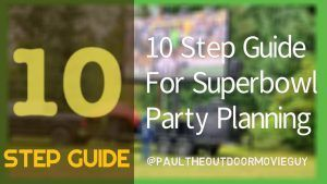 Ten Step Superbowl Party Planning Video