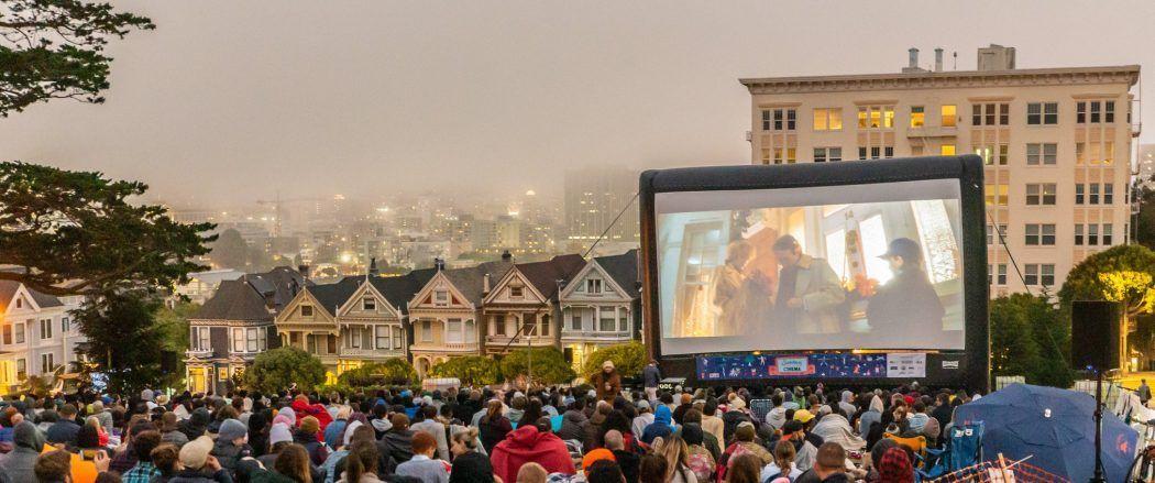 Movie Projection Rentals Ventura, CA by Fun Flicks Outdoor Movie Events
