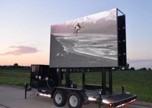 mobile led video trailer live feed events