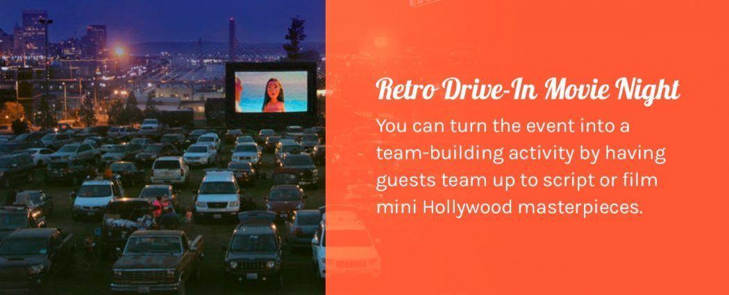 Retro Drive-In Movie Night