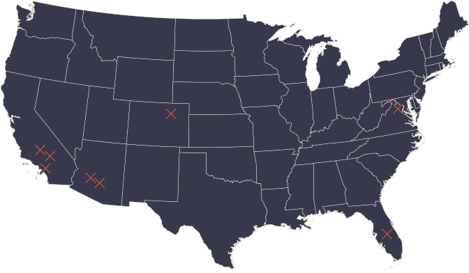 FunFlicks Company Locations in the USA