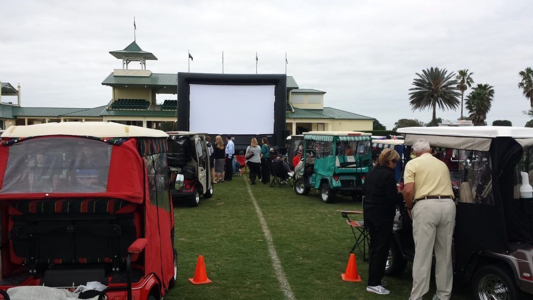 Country Club Activities includes a Movie on the Greens by FunFlicks Drive In Movies