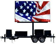 Giant led screen rental delivery using FunFlicks nationwide led company