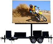 Mobile LED screen rental price includes a Fun Flicks video wall delivery