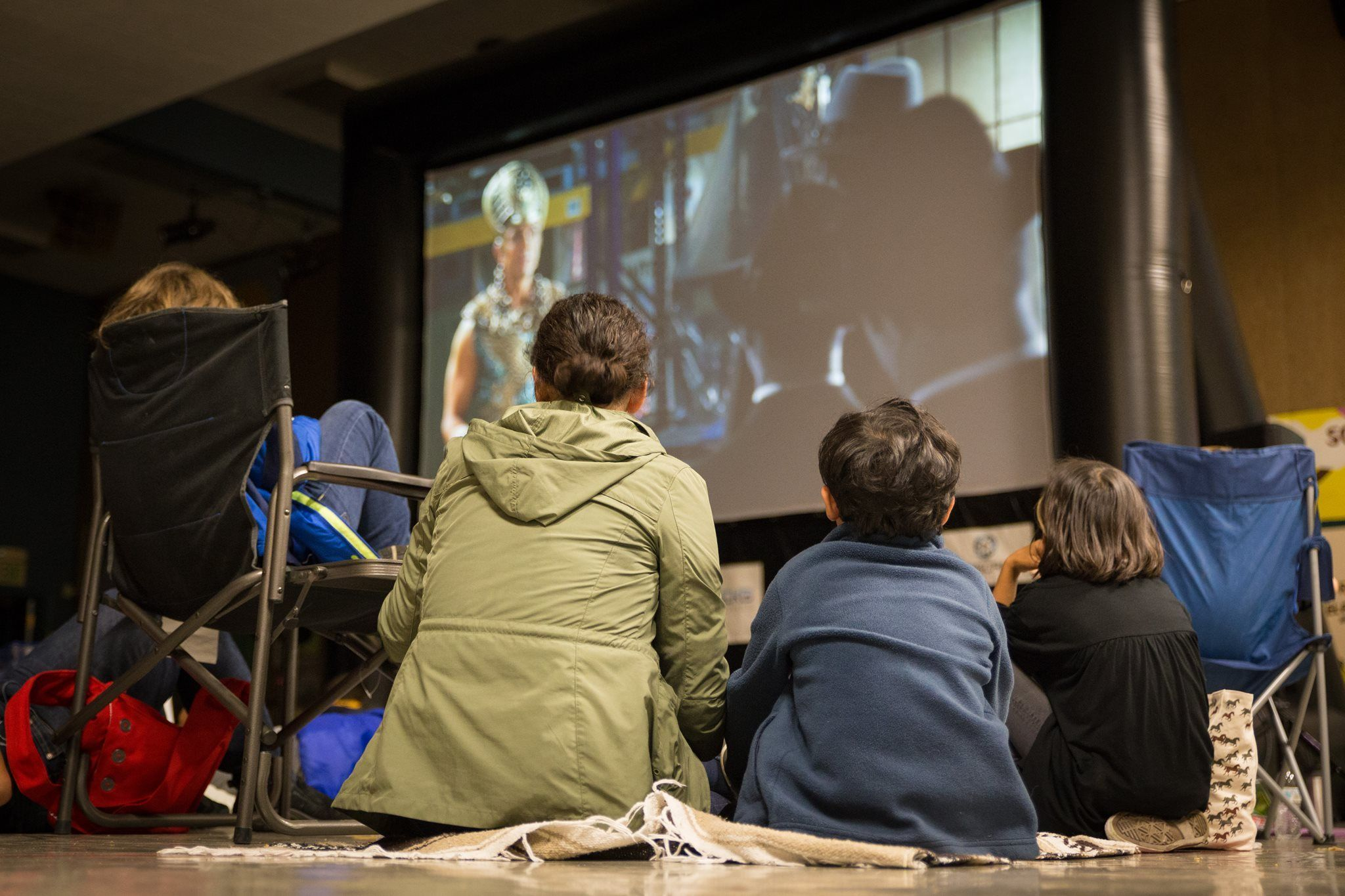 Church family night movie equipment rental by FunFlicks®