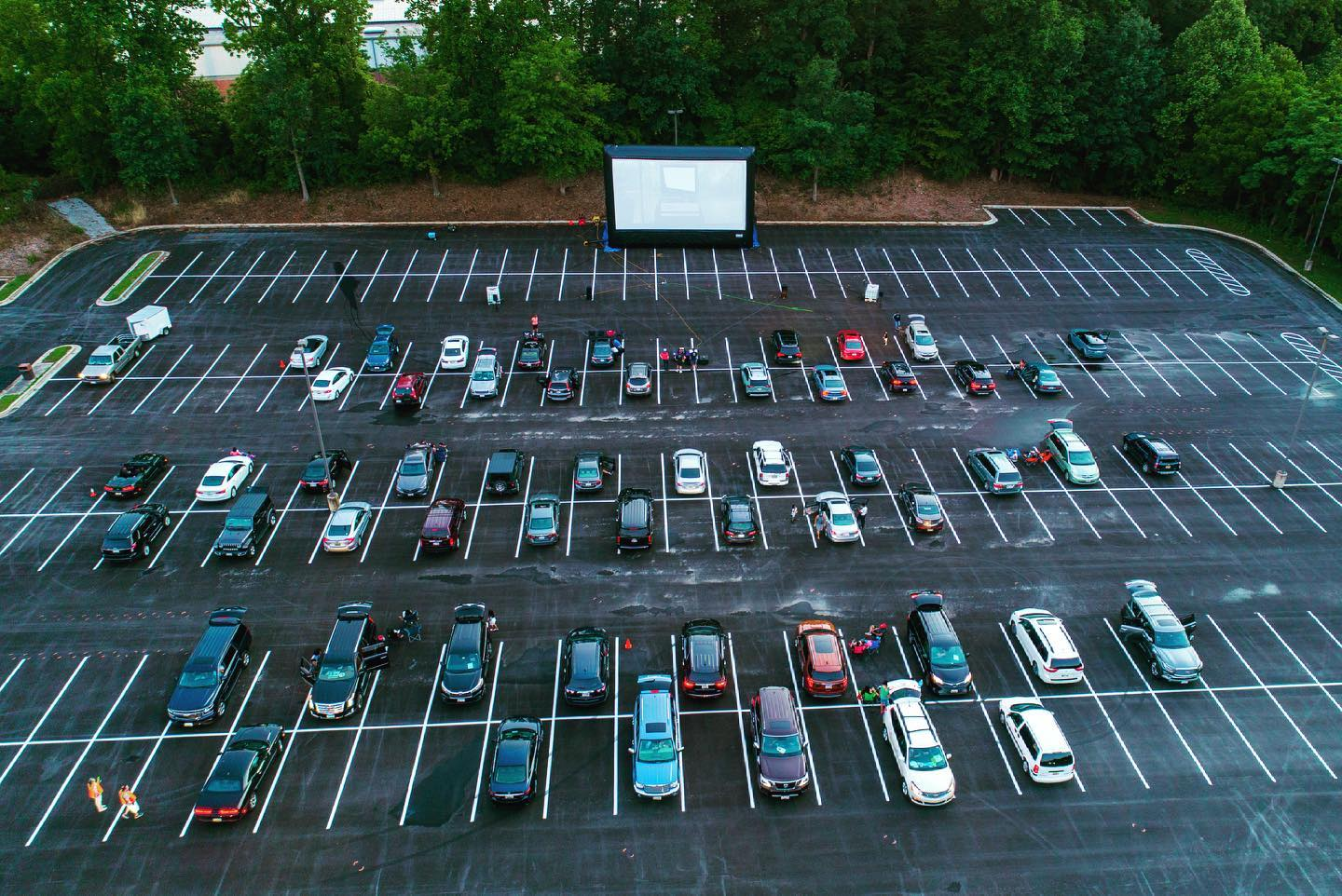 Parks and Recreation programs can include a drive in movie night as a summer program