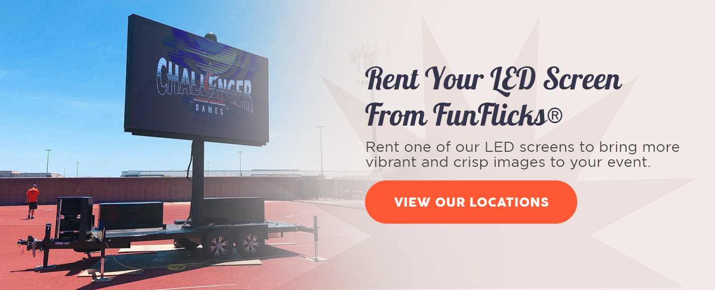 Rent Your LED Screen from FunFlicks